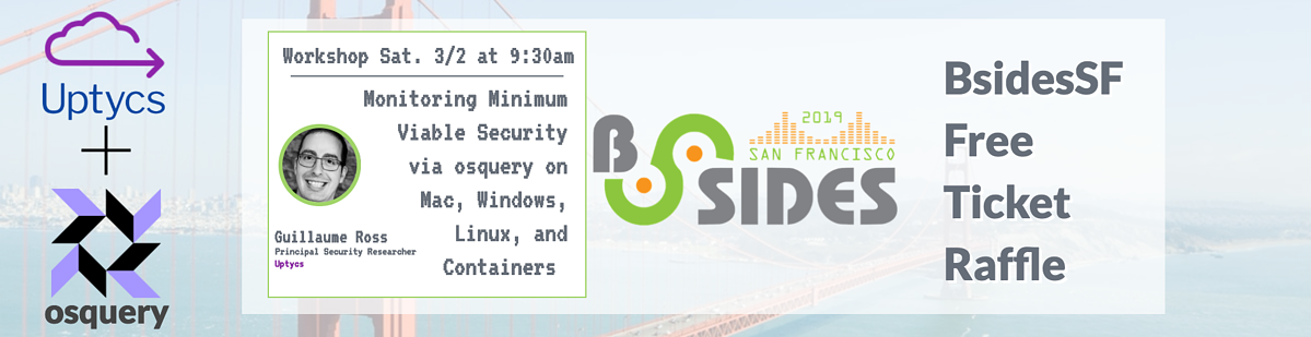 Register here for our free BsidesSF Ticket Raffle