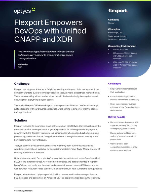 Flexport Case Study Thumbnail