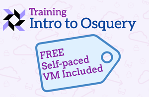 Intro to osquery Course